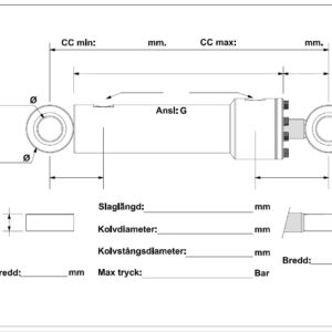 Cylindermall B-BB B-LL